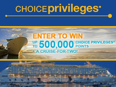 choice.cruisesonly.comsweeps - Enter Choice Privileges Cruises 1,000,000 Points and Cruise Giveaway