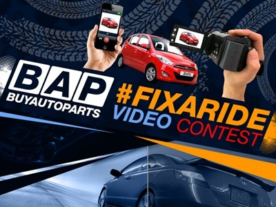 www.buyautoparts.com - Enter BuyAutoParts.com #FixARide Video Contest