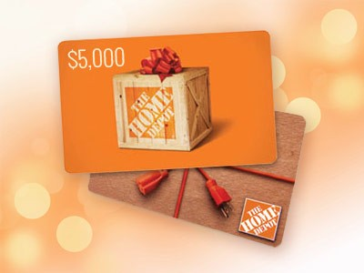 www.homedepot.comopinion - Win a $5,000 Home Depot Gift Card in Home Depot 2015 Q1 Customer Satisfaction Survey Sweepstakes